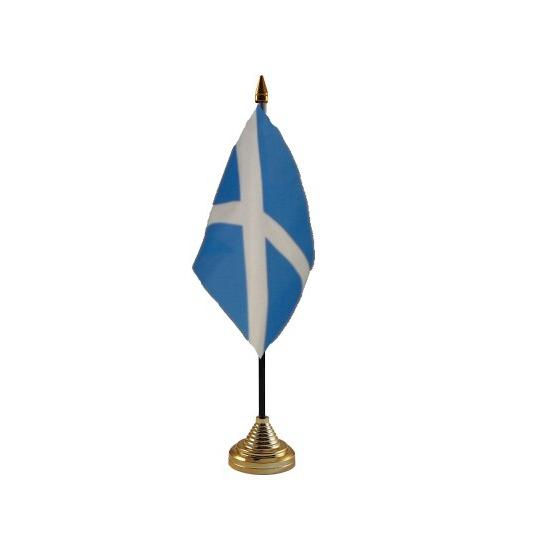 Schotland tafelvlaggetje inclusief standaard