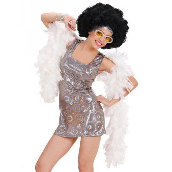 Zilveren discokleding dames