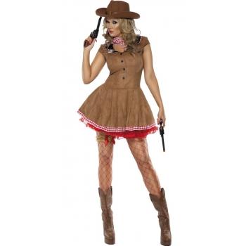 Sexy cowgirl kostuum voor dames