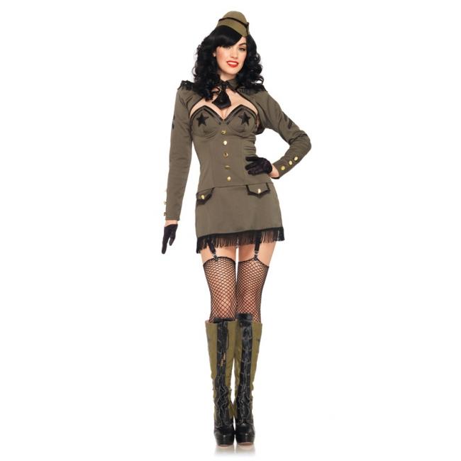 Sexy leger kostuum dames