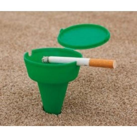 Sigaretten strand asbakje