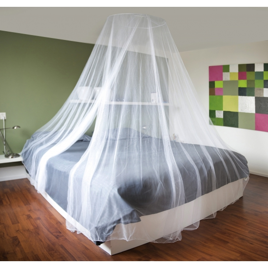 Slaapkamer klamboe wit XL