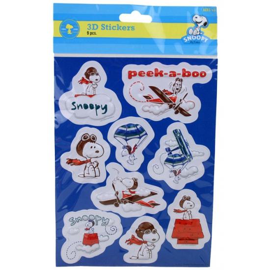 Snoopy 3D sticker vel
