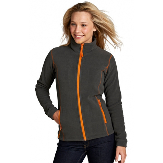 Sols micro fleece jack voor dames