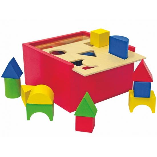 Speelgoed blokken in doos 20 stuks