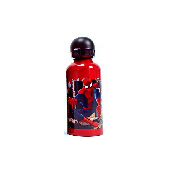 Spiderman drinkfles rood