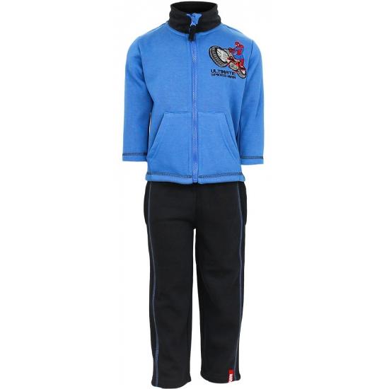 Spiderman joggingpak blauw