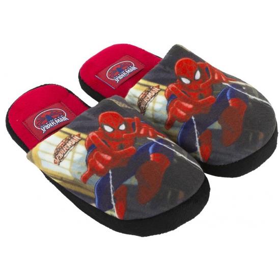 Spiderman pantoffels rood