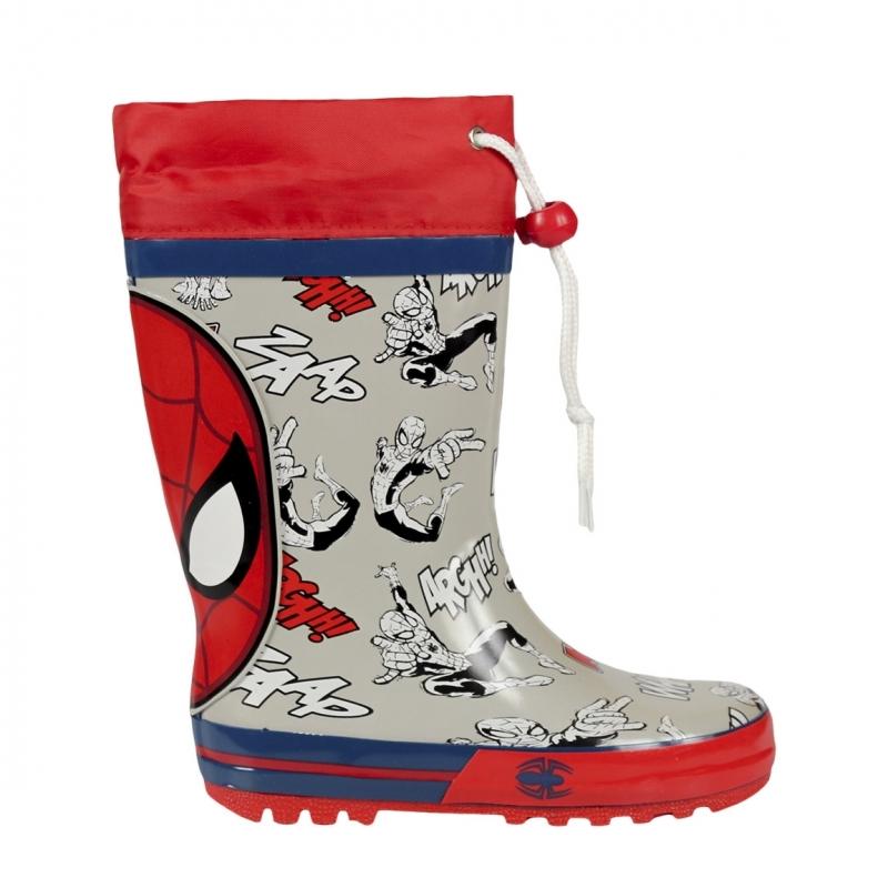 Spiderman regenlaarzen voor jongens