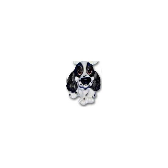 Stenen Cocker Spaniel puppie zittend 13 cm