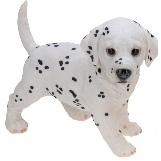 Stenen Dalmatier puppy 29 cm staand
