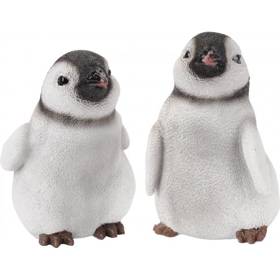 Stenen pinguin 12 cm