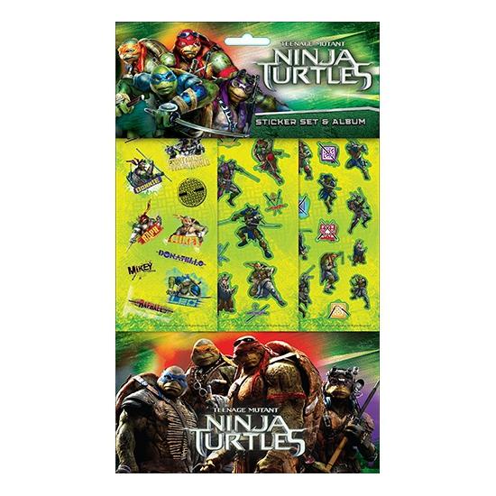 Stickerset groot Ninja Turtles
