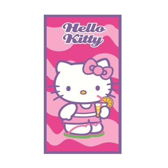 Strandlakens Hello Kitty 70 x 140 cm