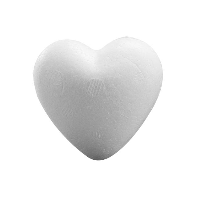 Styrofoam hart 9 cm
