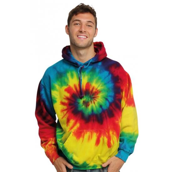 Sweater alternatieve print regenboog