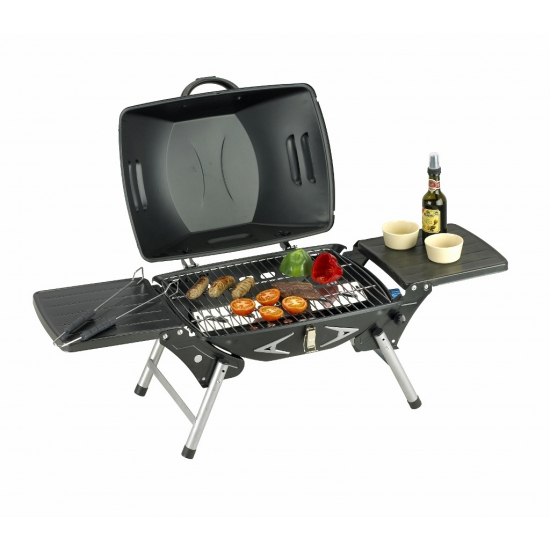 Table top barbecue met gas aansluiting