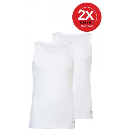 Ten Cate witte heren hemden 2 pak