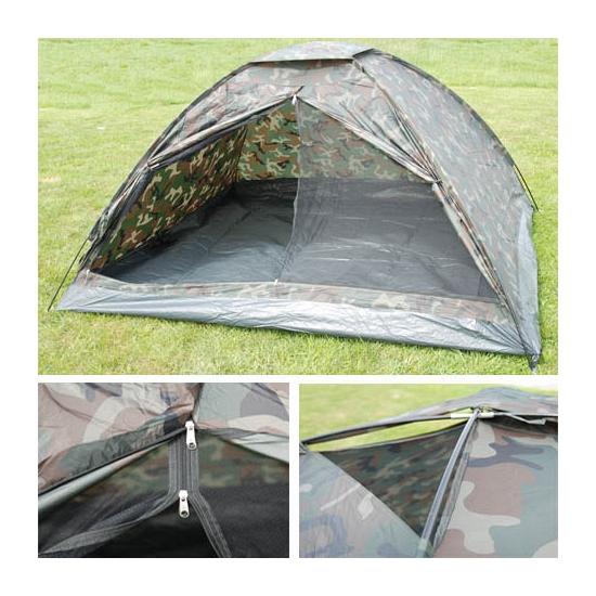 Tent met camouflage print 4 personen