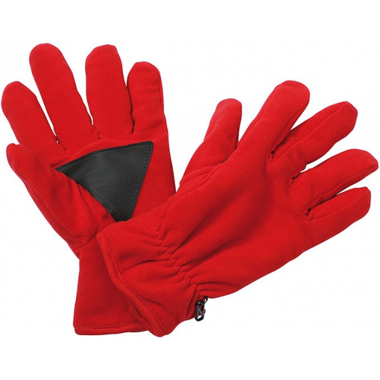Thinsulate fleece handschoenen rood