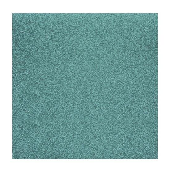 Turquoise glitter papier vel