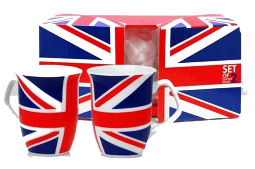 Union Jack koffie mokken