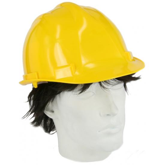 Veiligheids helm geel