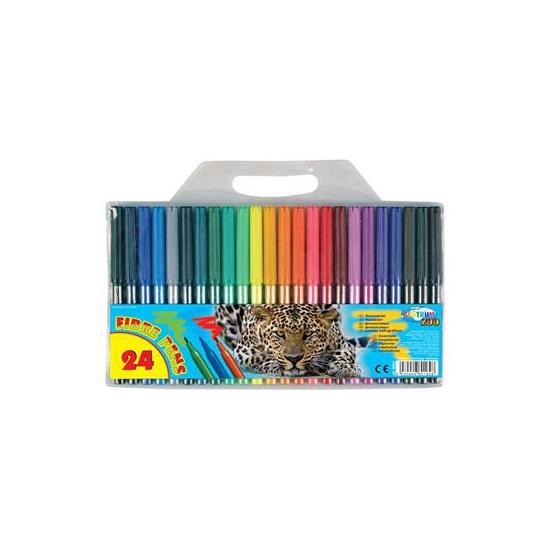 Viltstiften gekleurd 24
