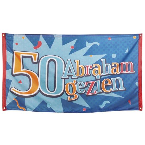 Vlag Abraham gezien 90 x 150 cm