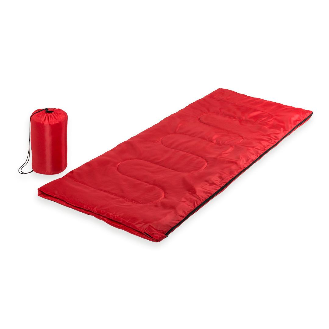 Volwassen rood gekleurde slaapzak 75 x 185 cm