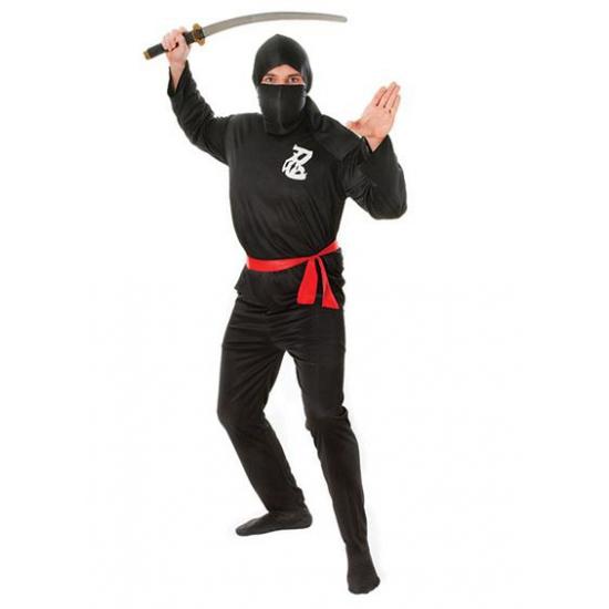 Voordelig ninja kostuum voor volwassenen