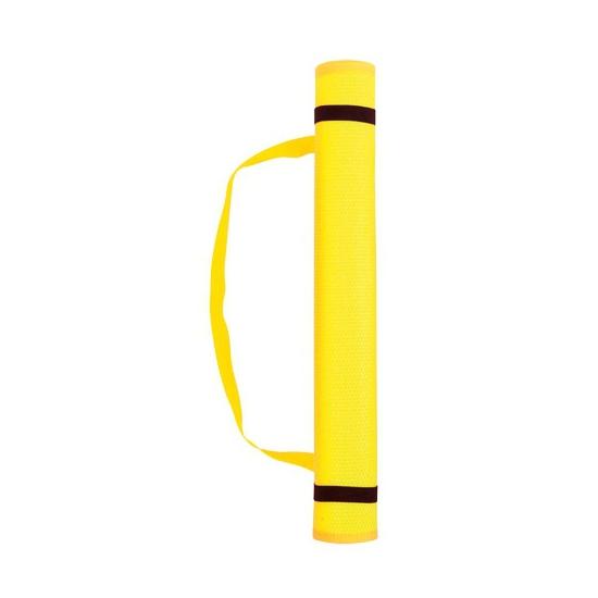 Voordelige strandmat geel
