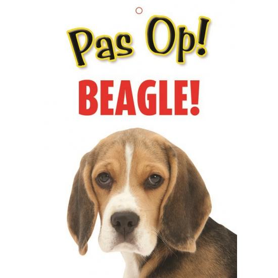 Waakbord Beagle hond