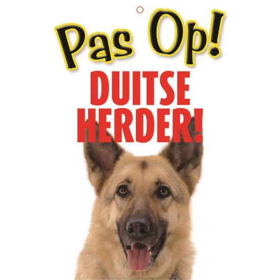 Waakbord Duitse Herder hond