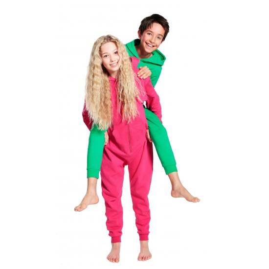 Warme onesie jumpsuit voor kinderen