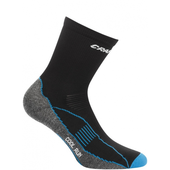 Warme sportsokken van Craft zwart/blauw