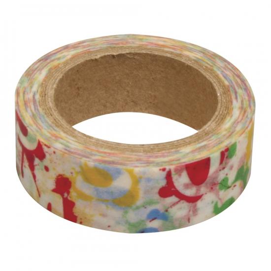Washi knutsel tape cijfers