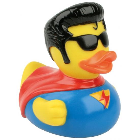 Waterworld badeend Superman 8 cm