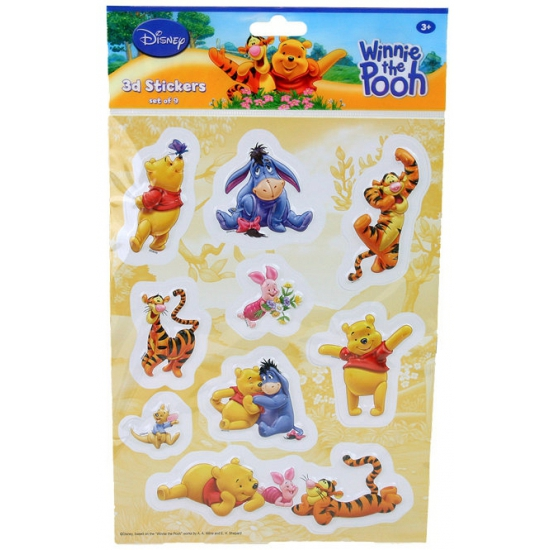 Winnie de Poeh 3D Disney stickers