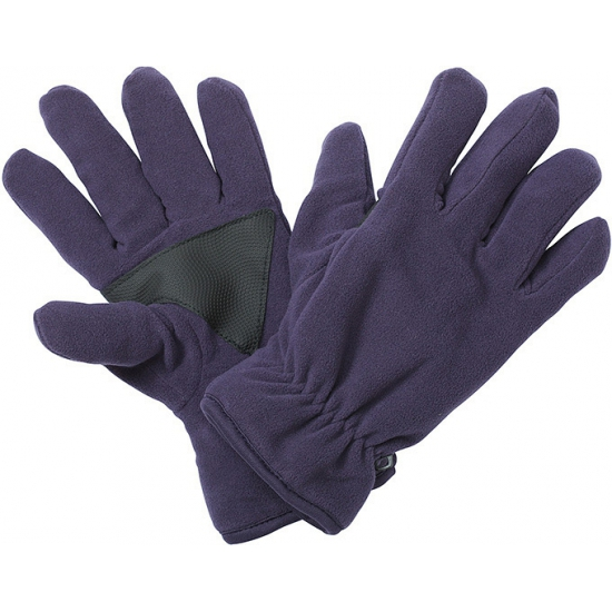 Winter fleece handschoenen aubergine
