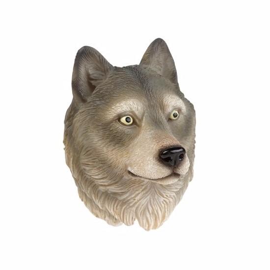 Wolf magneet 3D van 8cm
