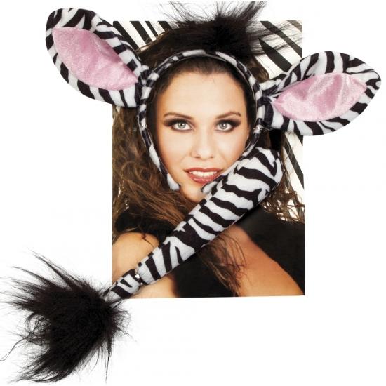 Zebra verkleed setje