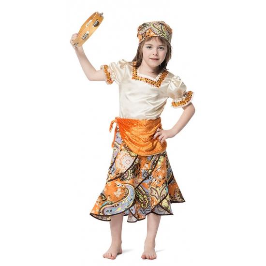 Zigeunermeisje kostuum