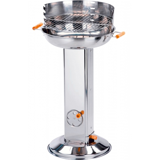 Zilver RVS barbecue 84 cm