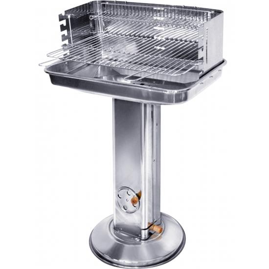 Zilver RVS barbecue 85 cm