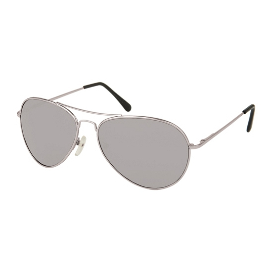 Zonnebril piloten zilver