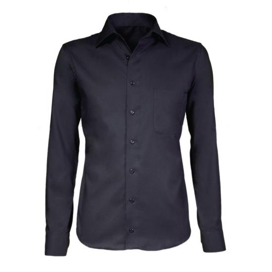 Overhemd zwarte maatpak