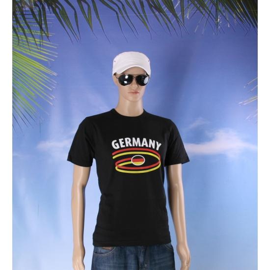 Zwart heren t shirt Duitsland