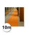 10 meter oranje loper 1 meter breed
