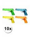 10 speelgoed waterpistolen 20 cm